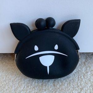 BCBG MaxAzria cat coin purse bag with ears NWOT